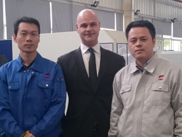 Omet China, more technology and quality: new management for the office in Wujiang