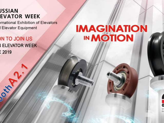 OMET SYSTEMS IN MOTION VERSO LA RUSSIAN ELEVATOR WEEK